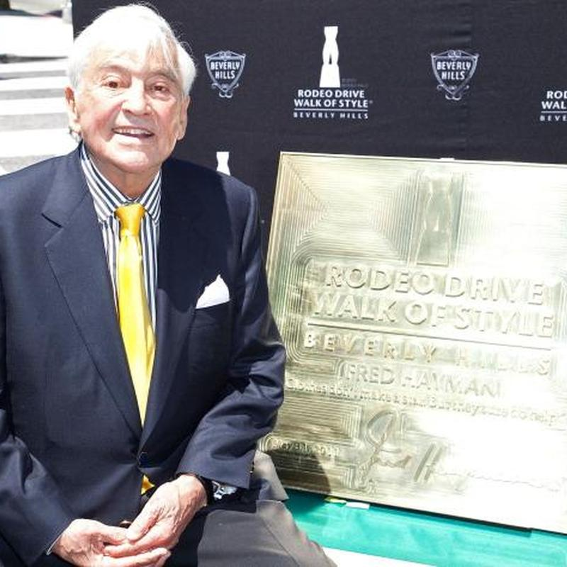 Fred Hayman, Godfather of Beverly Hills, who made Rodeo Drive famous, dies at 90