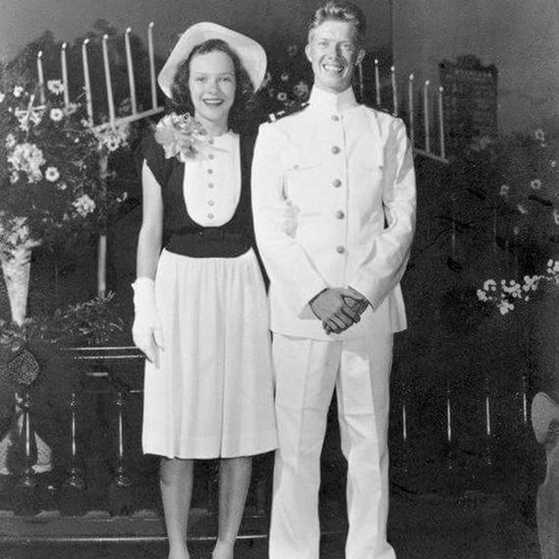 jimmy carter amp rosalynn carter wedding anniversary